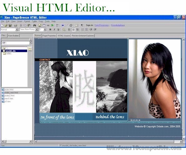 Free Home Design Software For Windows 10: PageBreeze Free HTML Editor 5.0.01 Free Download